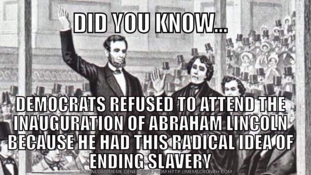 The Inauguration Of Abraham Lincoln