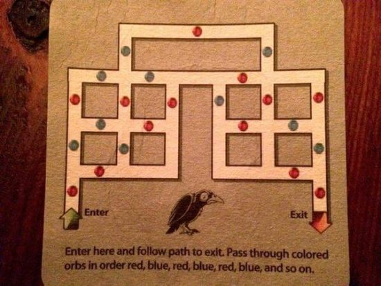 Puzzle Made To Trick Drunk People