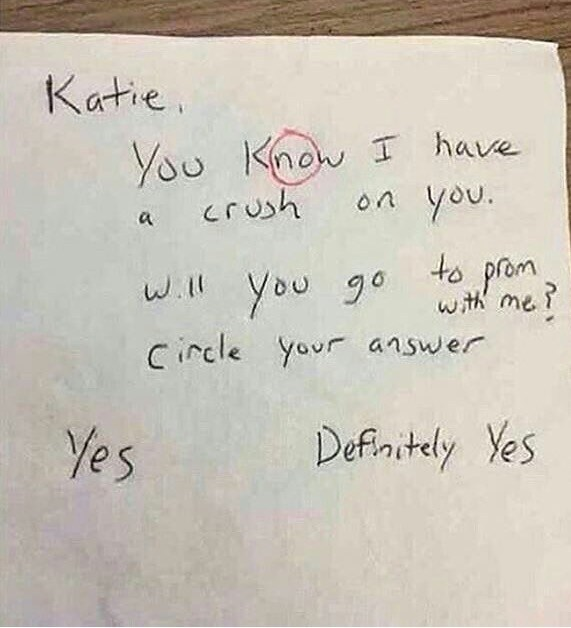 Letter Of The Day: Katie, The Clever Heartbreaker
