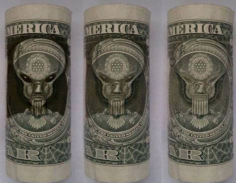 Hidden Messages - The Alien Dollar