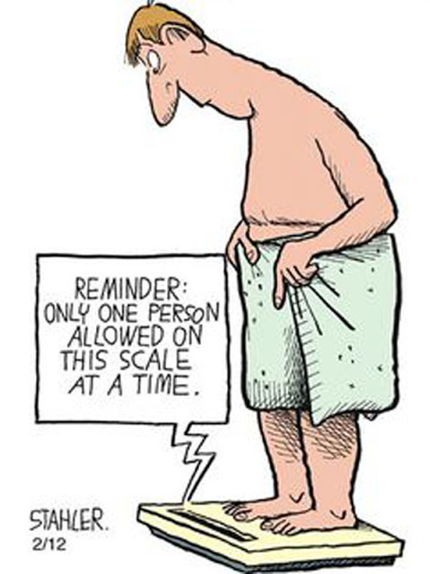 Cartoon Of The Day: How To Tell If Your Overweight