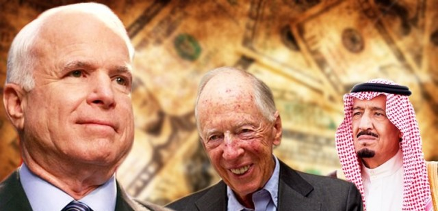 EXPOSED: John McCain And His Ties To The Saudis And The Rothschilds