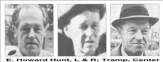"Was E Howard Hunt one of the ""tramps""?"