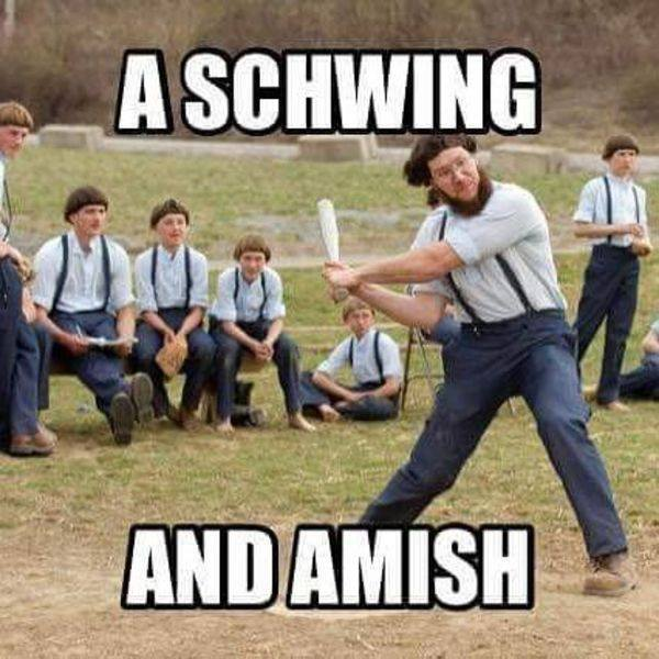 Pun Of The Day: A Schwing