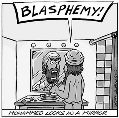 Cartoon Of The Day: How Mohammed Starts His Day