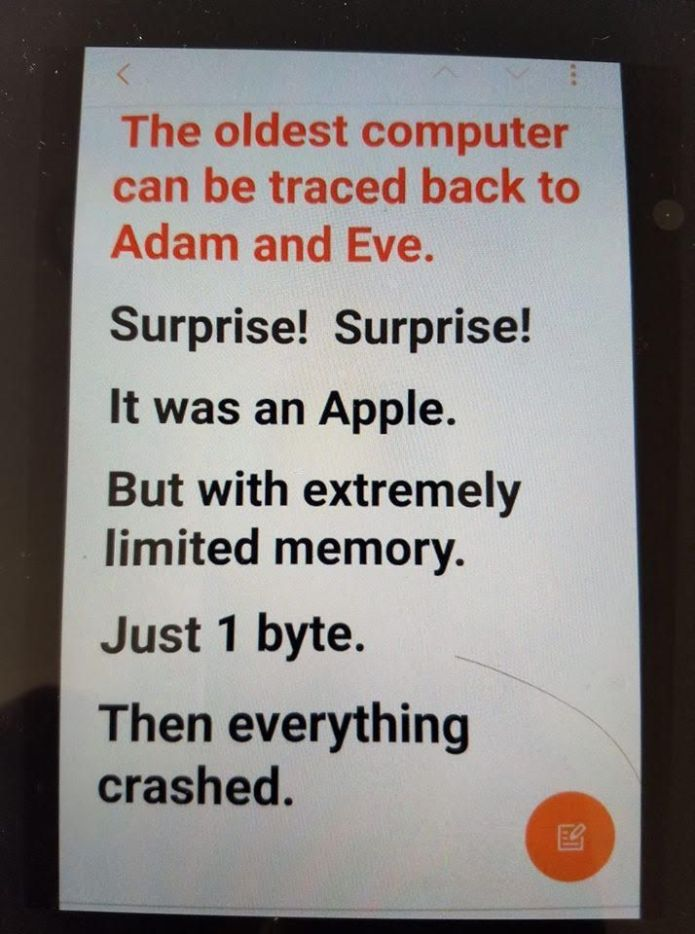 Sign Of The Day: The Oldest Computer