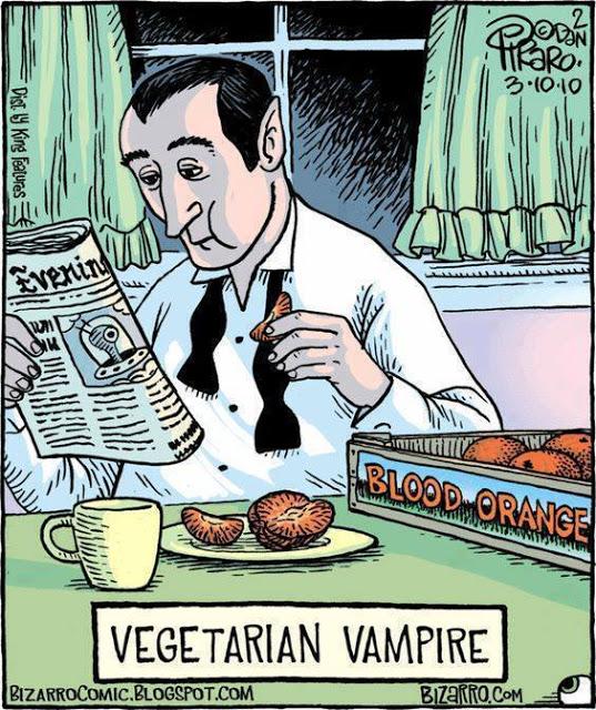 Cartoon Of The Day: Vegetarian Vampire