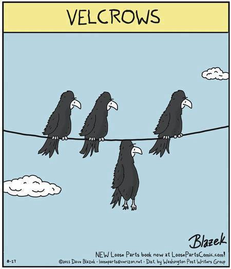 Cartoon Of The Day: Velcrows