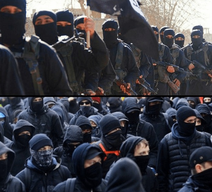 ANTIFA or ISIS: Who Wears It Best?