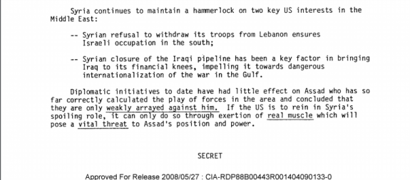 CIA Document screen shot