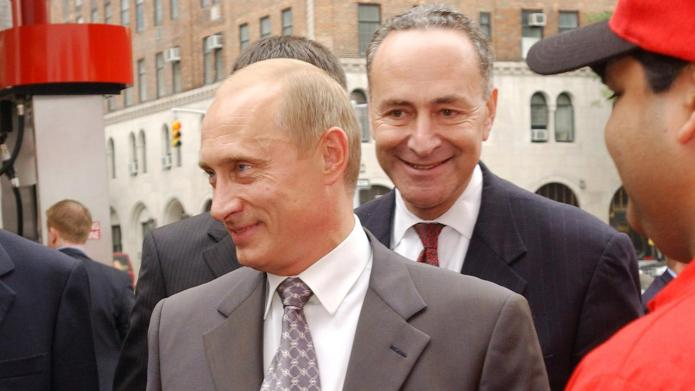 Chuck Schumer: Democrats, Not Russia, Are To Blame For Loss To Trump