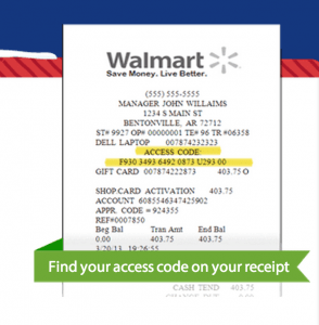 How To Register Walmart 1 Hour Guarantee Cards Common
