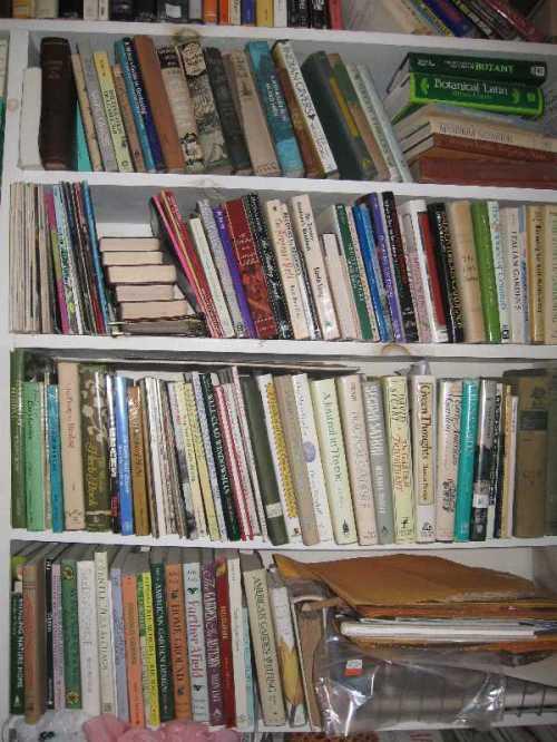 A very few of my garden books