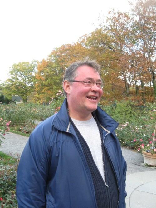 Curator Peter Kukielski