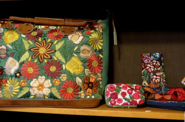 J.H. Sherburne embroidered cases