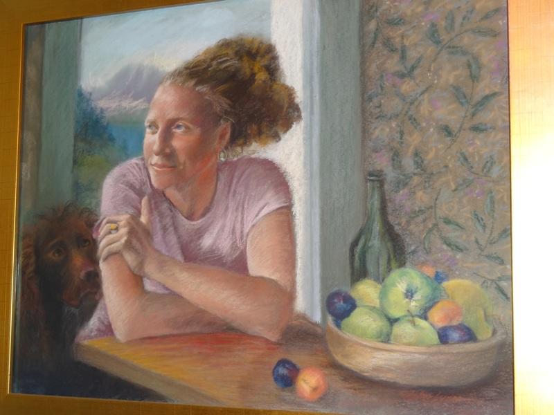 Portrait by J.H. Sherburne