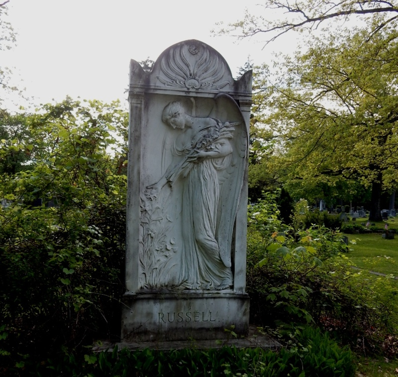 Green RiverCemetery Monument by Daniel Chester French