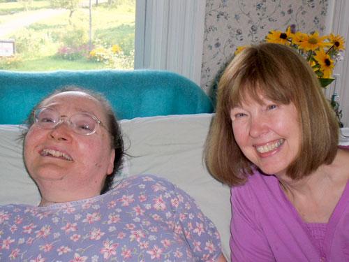 Carol Purington and Susan Todd