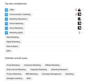 linkedin recommandations