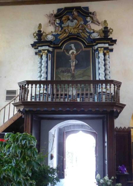 Dans l'église - Clairfayts
