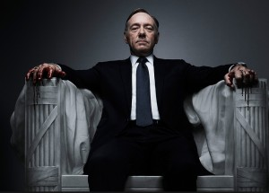 Power corrupts: Kevin Spacey in House of Cards