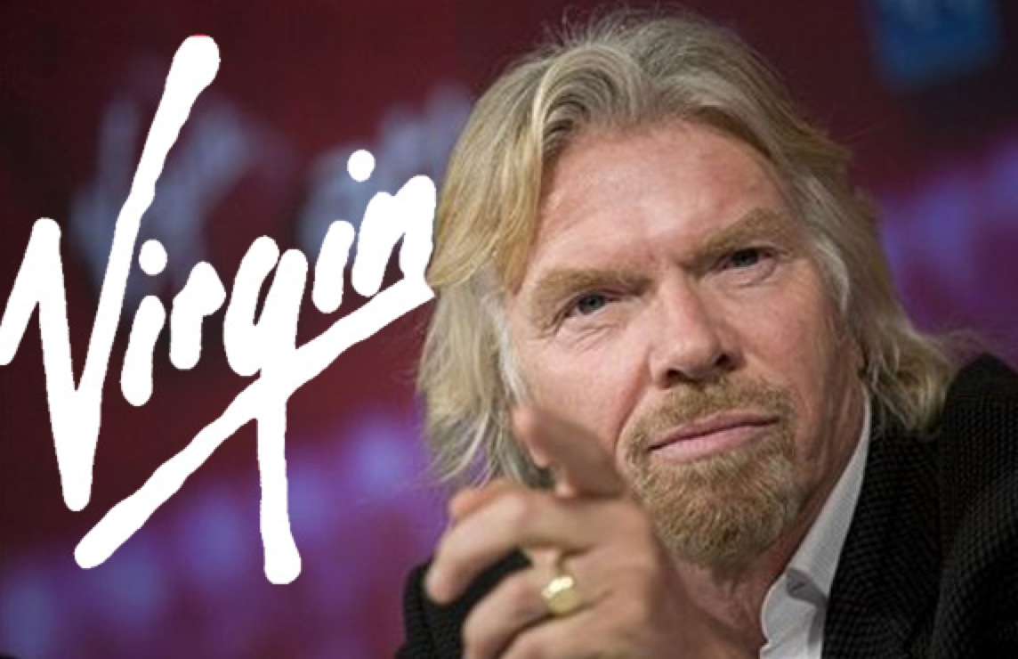 Virgin's Branson makes talking  a brand strength