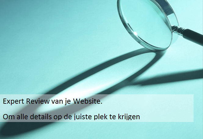 expert review van je website