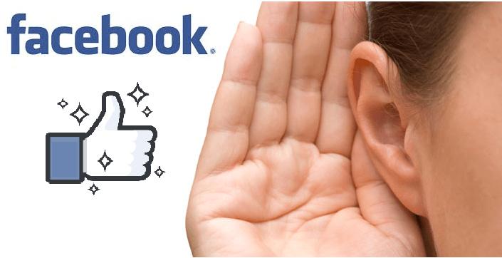 Luisteren naar Facebook