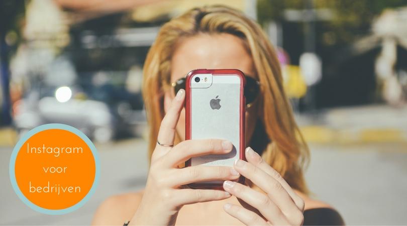 Instagram voor bedrijven: bedrijfsprofiel aanmaken