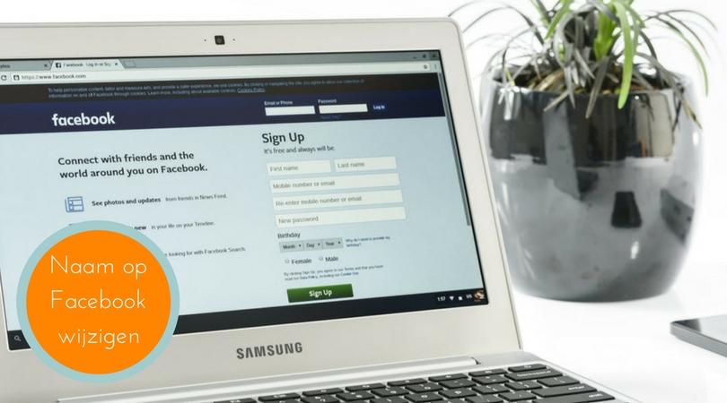 Naam Facebookpagina wijzigen: Verstandig en hoe?