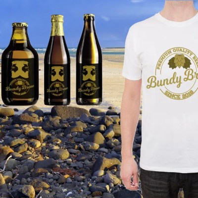 More mockups from the Bundy Brew promotion.
