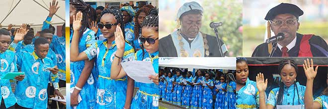 2016/2017 Convocation: Freshmen Called to be Organized, Disciplined and Hard working