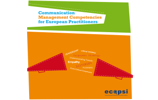 Ecopsi Communication Management Competencies for European Practitioners Header