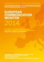 European Communication Monitor Topics 2014 Digital Mobile Communication Mentoring Networking Excellent Functions