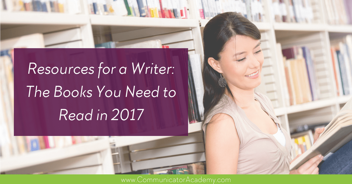 Resources for a Writer: The Books You Need to Read in 2017 (with Free Download)