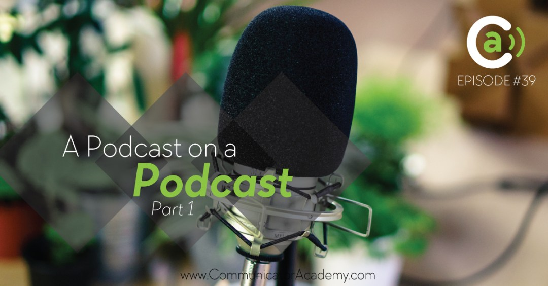 A podcast on a podcast