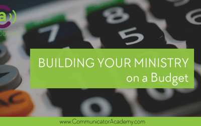 Episode #62: Building Your Ministry On a Budget
