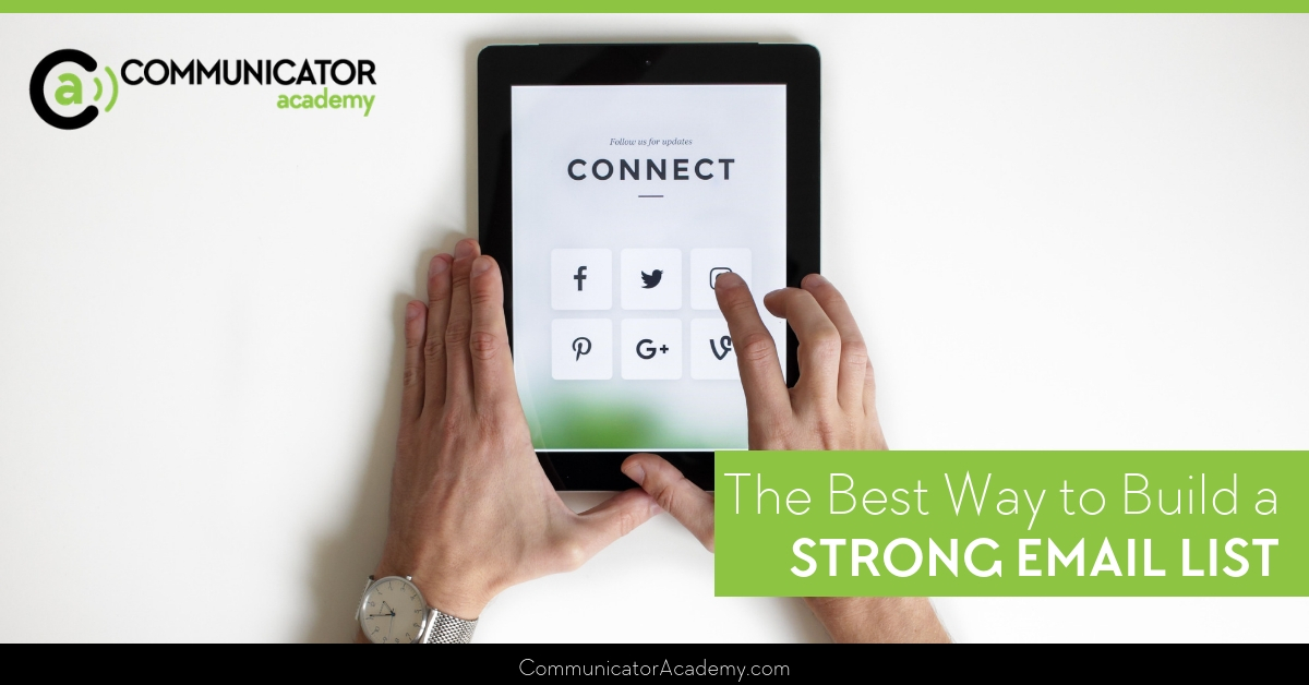 The Best Way to Build a Strong Email List