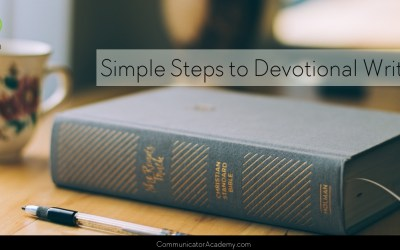 140 Simple Steps to Devotional Writing