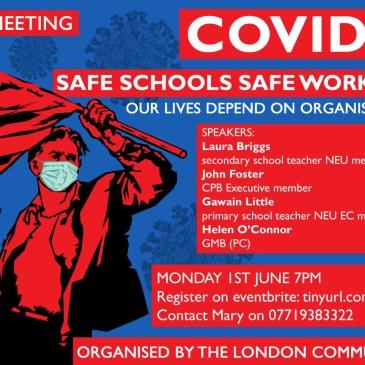 Safe schools, safe workplaces!
