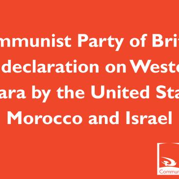 Communist Party of Britain on declaration on Western