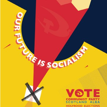 #VoteCommunist-in Scotland