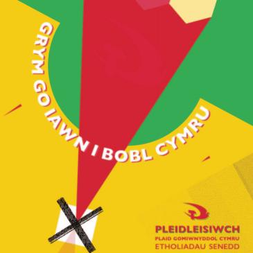 Pleidleisiwch y Blaid Gomiwnyddol! – Ffederaliaeth Flaengar