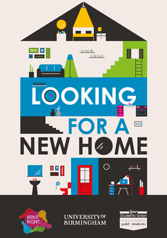 Looking for a new home booklet front cover