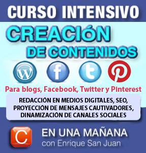 Curso-creacion contenidos redes sociales-community internet social-media-enrique-san-juan-barcelona