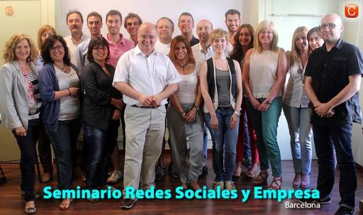 Seminario Redes Sociales y Empresa de Barcelona 2013 community internet the social media company