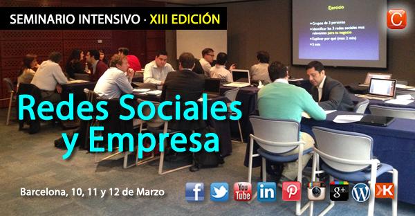 Seminario redes sociales empresa barcelona community internet