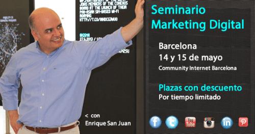 seminario marketing digital para redes sociales Enrique San Juan community internet
