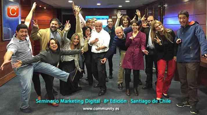 seminario marketing digital community internet enrique san juan santiago de chile abril 2015