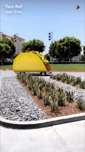 taco bell snapchat analisis community internet 25